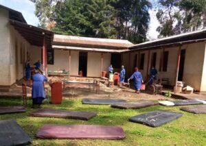 higiene hospital covid19 africa